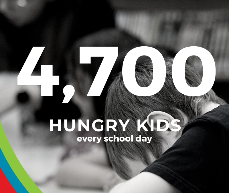 4,700 Hungry Kids Every School Day