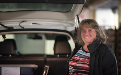 Celebrating our Volunteers :: Colette Henley, Delivery Driver